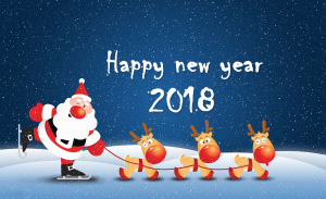 happy_new_year_2018_santa_claus_with_reindeers_(1)